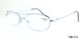 de metal de moda gafas de lectura