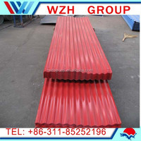 Prepainted galvanized steel coil / corrugated metal roofing sheet / ppgi corrugated plate china supplier