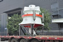Latest calcium carbonate grinding equipment HST single-cylinder hydraulic cone crusher