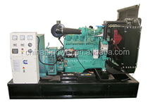 Electric generators open type Powered by Cummins 80KVA/64KW from China