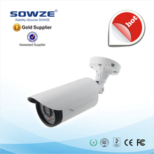 960P HD Bullet IP Camera Outdoor IR Night Vision CCTV Manufacturer FCC,CE,ROHS Certification