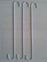 Long distance S shaped metal hanging hooks