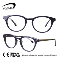 Sepectacle Frame With New Pattern Metal Temple Eyewear Frame For Optical Frames Wholesale
