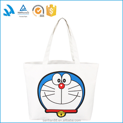 Wholesale hot sale new trendy women canvas shoulder bag