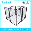 large outdoor welded panel outdoor dog playpen/welded wire dog kennel/large outdoor dog cage