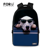 China Online Handmade Backpack With Lovely Dog School Backpack Bag For College