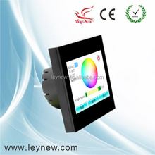 Colorful LED RGB Touch screen controller with DIY function Leynew TS100