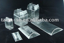 de acetato transparente caja plegable