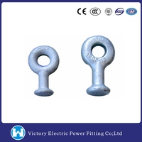 11KV Line Fitting OEM Pole Line Hardware Electric Power Fitting Ball eye Link For Power Accessories Ball Eye