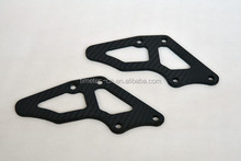 Carbon motorcycle parts, exhaust pipe cover parts