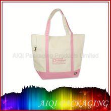 christmas ladies fashion genuine leather handbags/ Cotton bag