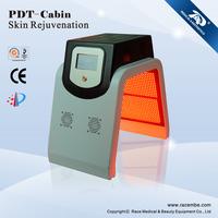 Portable Red Blue Green PDT LED Skin Rejuvenation Face Mask