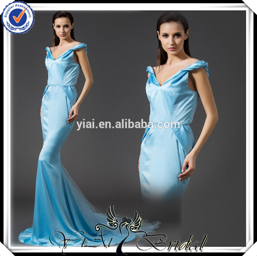 latina gt0049 de hielo <span class=keywords><strong>azul</strong></span> vestido de noche para las personas mayores