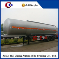 Factory 3 axles lpg tanker trailers for sale