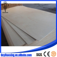 3mm E0 BB/CC Grade Bleached Poplar Plywood for Furniture to Vietnam Market(LINYI FACTORY)