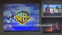 pantalla de proyección de cristal para el cine