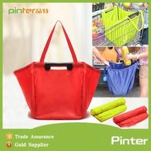 Large capacity shopping cart bag,reusable folding shopping bag, shopping trolley bag