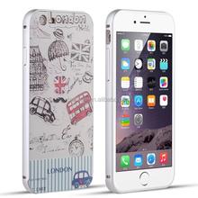 for iPhone 6 customized 3D printing case aluminum bumper