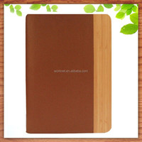 alibaba express hot selling bamboo tablet cover for ipad air 2 leather case