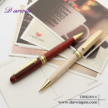 2015 Cheap Wooden Promotional Gift Twistable Ball Pen
