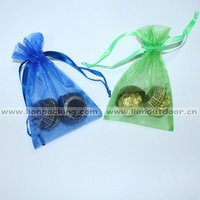 decorated organza pouch