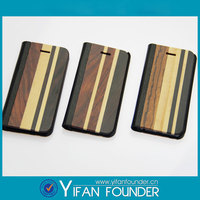 Wholesale cell phone case wood for apple iphone,leather wood wallet for iphone 5s