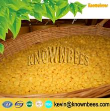 Popular Pellets Beeswax Yellow--Applied in Candle Making & Food Industry