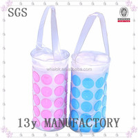 2014 High Quality Clear PVC Plastic Cosmetic Bag For Promotion