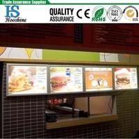 kfc menu box / restaurant light board