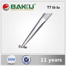Hot sell BK T7 7-SA BaKu Pointed Tip Mini Tweezers Professional On Anti-Magnetic esd tweezer Not-Corrosive Stainless Tweezers
