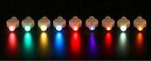 2015 New Brand Christmas Decoratio LED Mini Single led Hanging Paper Lantern