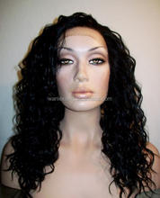 Factory price top quality 100% remy/virgin Brazilian human hair front lace wig,human hair wig