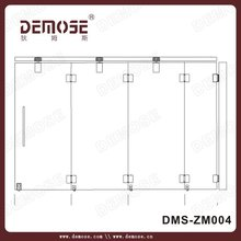 china supplier cheap sliding doors glass interior folding door partition for banquet hall DMS-ZM004