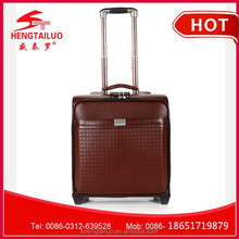 2015 good design cheap hotel trolley bag with 4 universal wheels