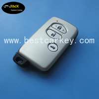 TopBest 3 button car remote key for toyota smart key remote toyota crown smart key