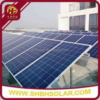 Double Column Flat Roof Solar Mounting System