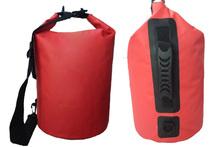 Single Shoulder Straps PVC 500D Mesh Fabric Diving Dry Bags Waterproof