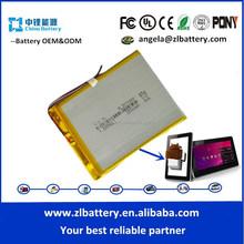 357290 2000mAh rechargeable li-ion lithium battery 7.4V