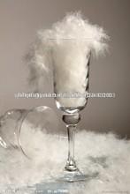blanco lavado de pluma de ganso y pluma