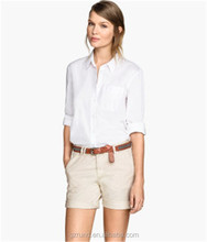 Fashion FOB Women Shorts Summer Loose Casual Thin wholesale shorts With Belt 2015