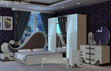2015 unique Adult bedroom furniture for sale glossy painting #8057
