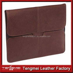 Luxury pu Leather Business Type Stand Leather Case Cover for Apple iPad Mini
