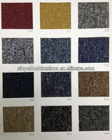 Hot!! SY1000 Commercial Office Tile Carpet With PVC Backing