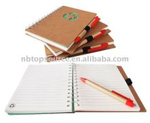 Promotional items Office Supply Stationery Notebook with Pen for gift