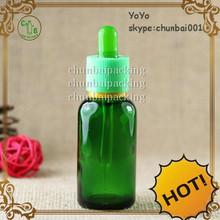 wholesale 30 ml glass dripper bottle colorful rubber e liquid bottle 10ml
