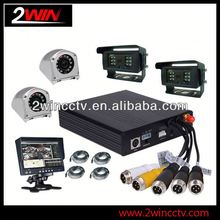 Cheap Prices!! 64GB 3G Vehicle CCTV Mobile 4ch mobile dvr for bus truck