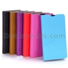 Wood Grain Pattern Flip Cover Leather Case With Stand Card Slot For LG L60 X145 Dual X147