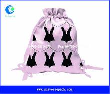 Screen print personalized lingerie bag