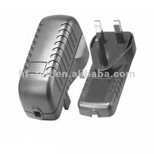 UK Plug-in hard disk 13v dc power adapter 12V 1.5A