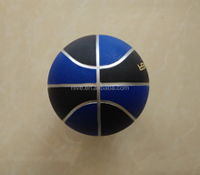 size 7 cheap promotional rubber basketball